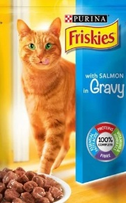 Purina Friskies With Salmon - 100 gm