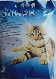 simpa cat litter Crystal 3.8 Liter